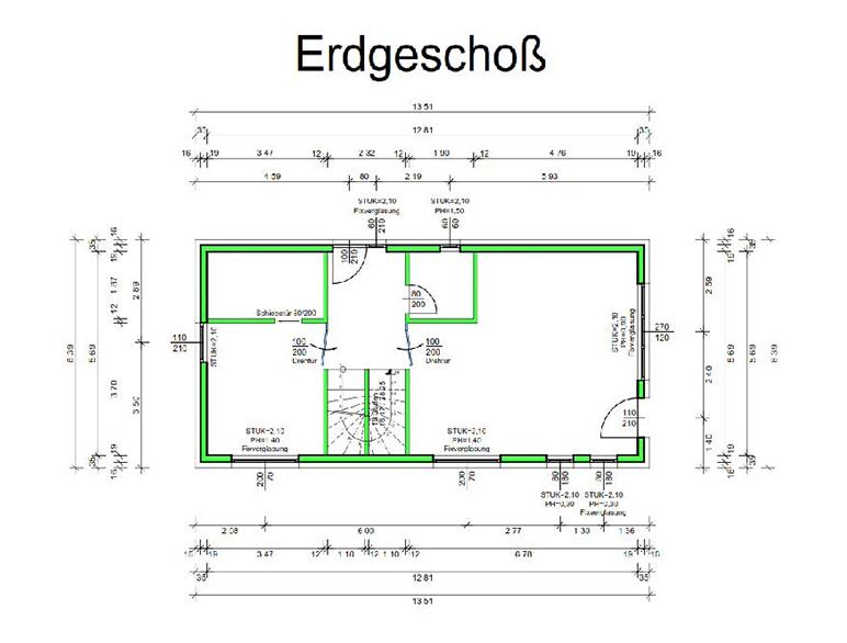 Marchfeldhaus Cube I Erdgeschoss
