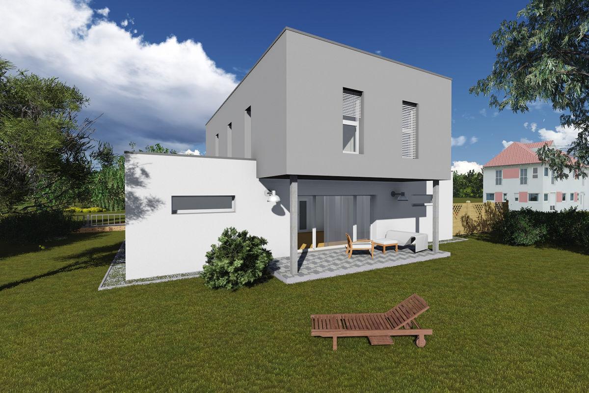 Musterhaus Modern 142 - Massivhaus mit Magu-Bausystem