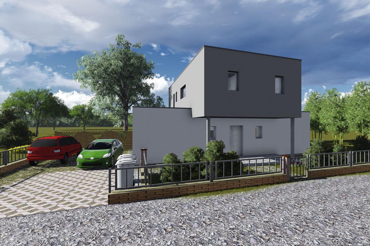 Musterhaus Modern 142 Einfamilienhaus Massiv Bauen